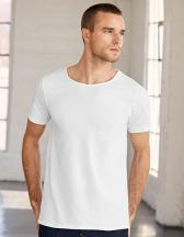 Men`s Jersey Raw Neck Tee